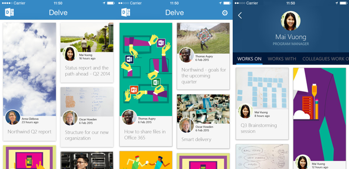 Delve for iPhone