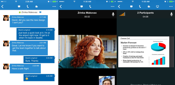 Skype for Business for iPhone